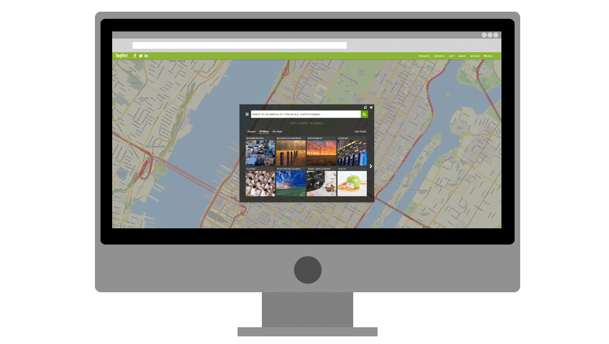 Add extra free and premium data to your maps with an integrated Datashop