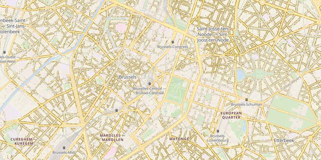 Adressen België Dashboard