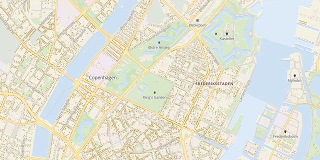 Adressen Denemarken Dashboard