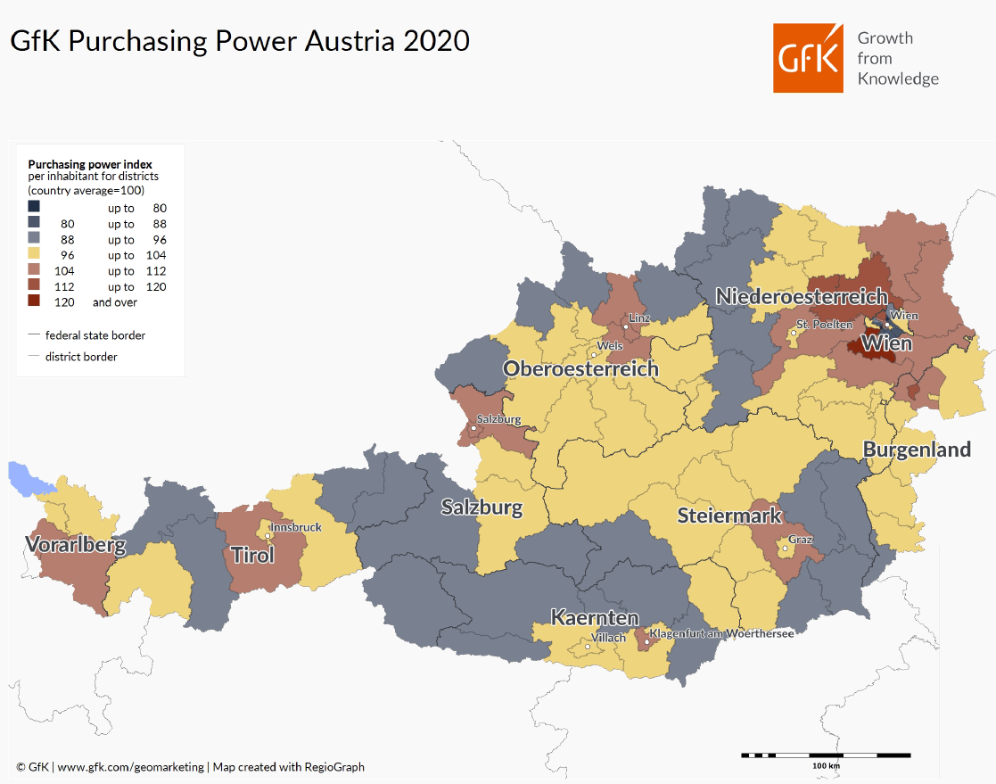 Purchasing Power Austria