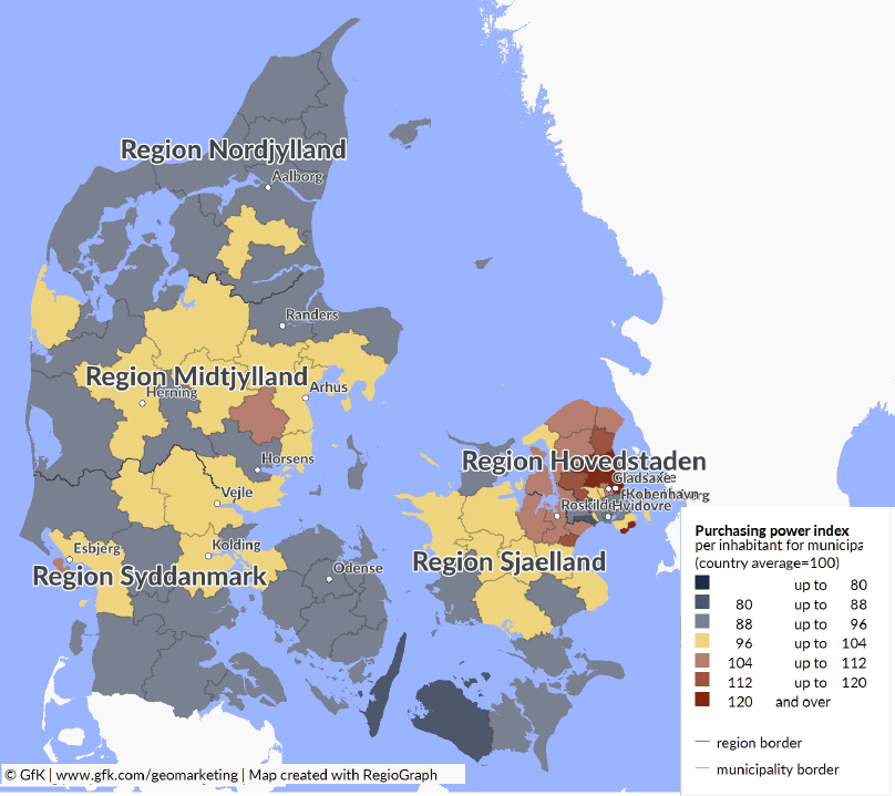 Purchasing Power Denmark