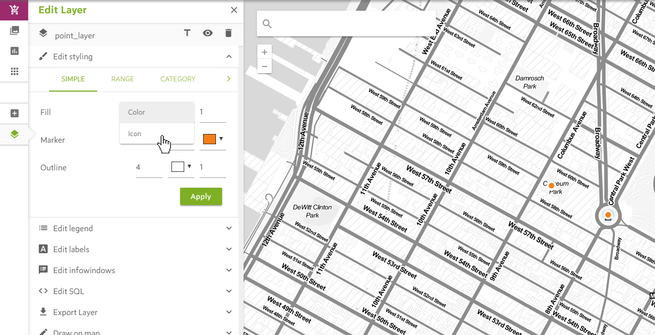 Adding Custom Map Markers to a Map