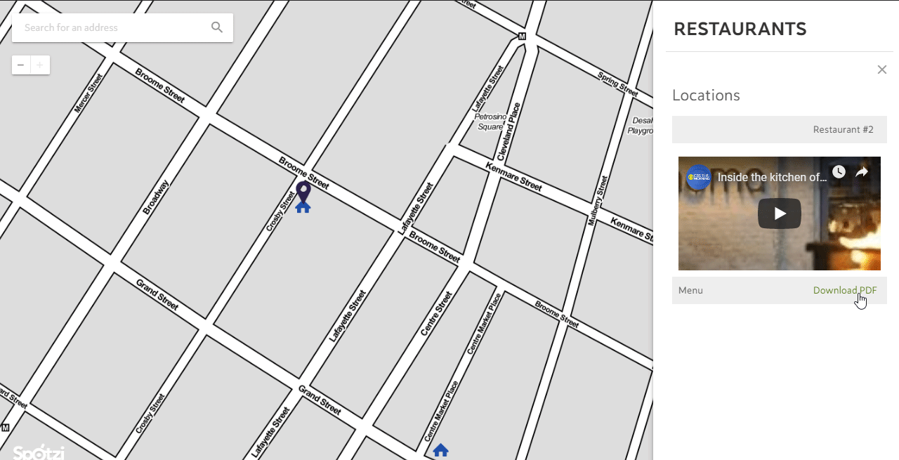 Edit the Data of a Map Feature