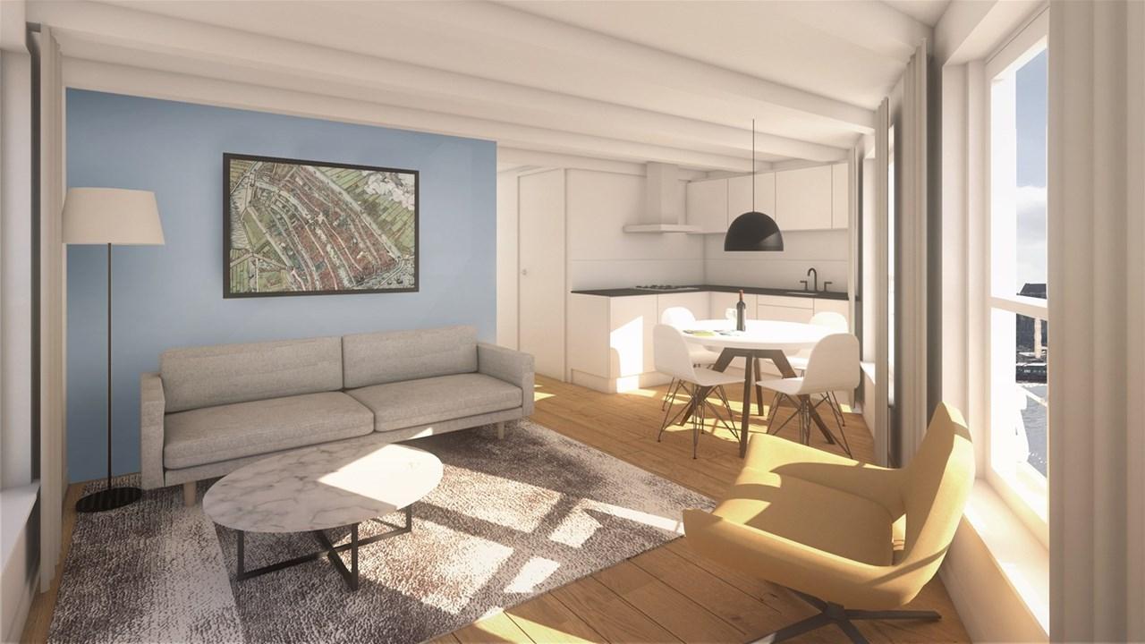 afbeelding woning met adres Kloveniersburgwal 143D 1011KE, Amsterdam